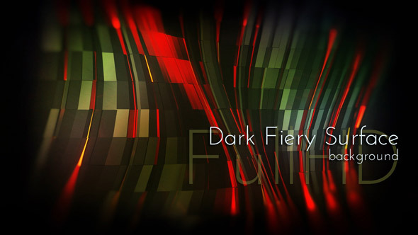 Dark Fiery Surface Background