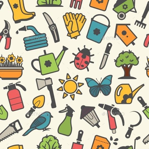 GraphicRiver Garden Background 10922387