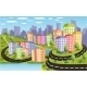 Colorful City - GraphicRiver Item for Sale
