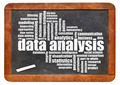 data analysis word cloud on blackboard - PhotoDune Item for Sale