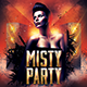 Misty Party Flyer - GraphicRiver Item for Sale