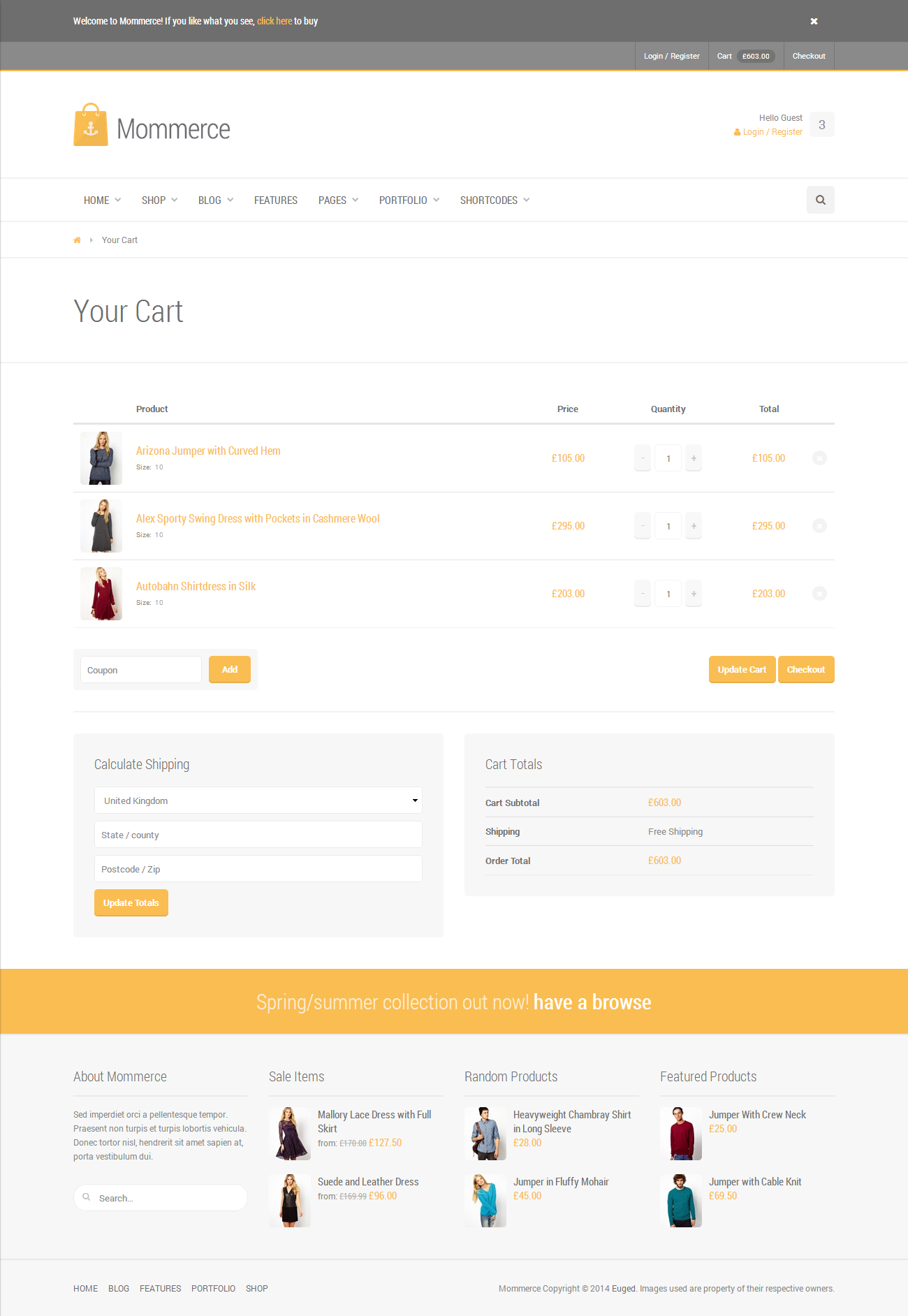 Mill - Modern WooCommerce Theme (aka Mommerce)