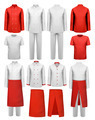 Set of cook clothing - aprons, uniforms.  - PhotoDune Item for Sale