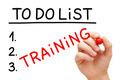 Training To Do List Concept - PhotoDune Item for Sale
