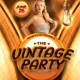 Vintage Party Flyer Template - GraphicRiver Item for Sale