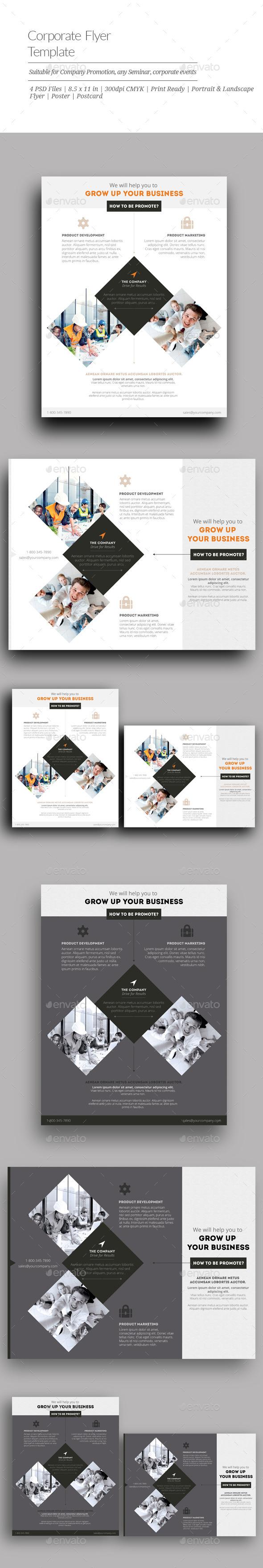 GraphicRiver Corporate Flyer Templates 10923506