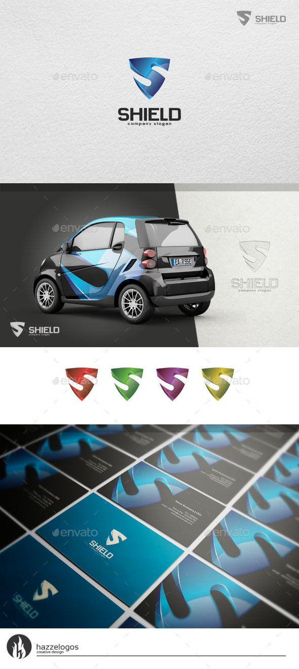 GraphicRiver Shield Logo 10923643
