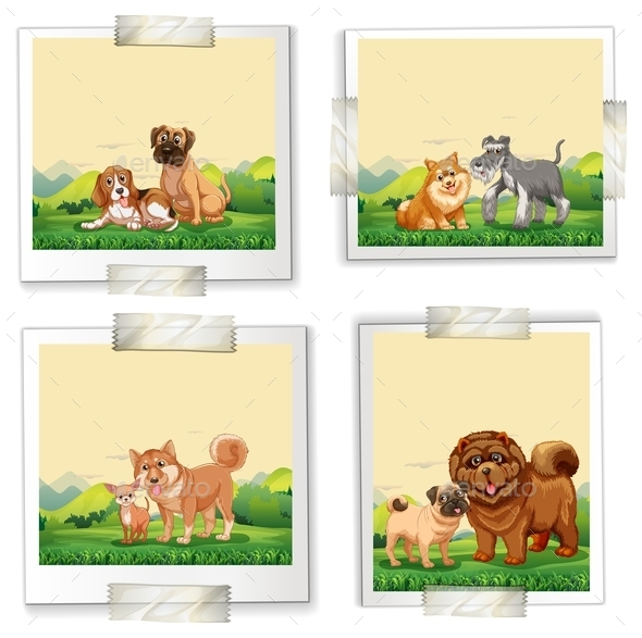 GraphicRiver Dogs 10923890