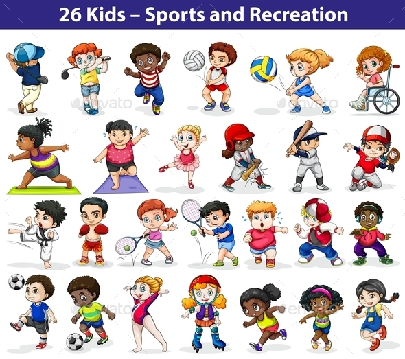 GraphicRiver Kids and Sports 10923939