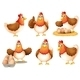 Chickens with Eggs - GraphicRiver Item for Sale