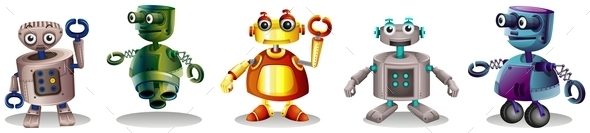 GraphicRiver Robots 10923961