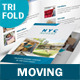 Moving Service Trifold Brochure - GraphicRiver Item for Sale