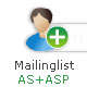 Newsletter MailingList AS+Asp - ActiveDen Item for Sale