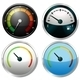 Set of Meter Gauges - GraphicRiver Item for Sale
