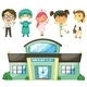 Doctors and Nurses at the Hospital - GraphicRiver Item for Sale