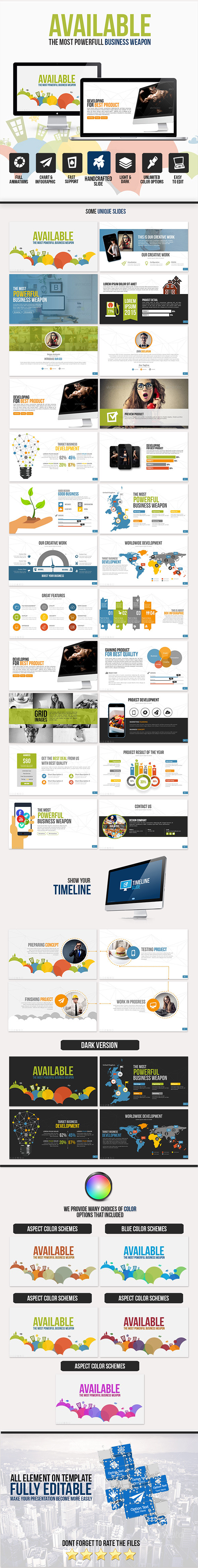 GraphicRiver Available PowerPoint Template 10924156