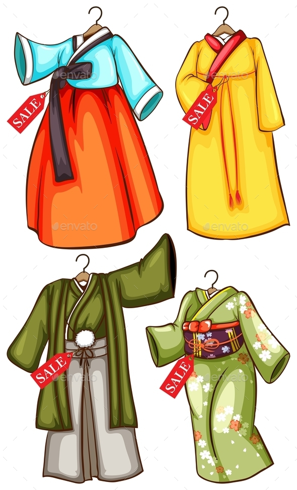 GraphicRiver Asian Outfits 10924261