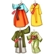Asian Outfits - GraphicRiver Item for Sale