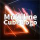 Multiline Cube Logo - VideoHive Item for Sale