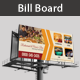 Restaurant & Hotel Billboard Banner Psd Template - GraphicRiver Item for Sale