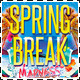 Spring Break Madness Party Flyer - GraphicRiver Item for Sale