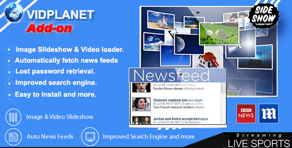CodeCanyon Vidplanet Video Portal Add-on 10789684