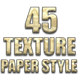 45 Amazing Paper Style - GraphicRiver Item for Sale