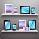 Devices On Shelves - GraphicRiver Item for Sale