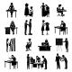 Dressmaker Icons Set - GraphicRiver Item for Sale