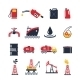 Petroleum Industry Icon Set - GraphicRiver Item for Sale