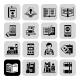 Books Icons Black Set - GraphicRiver Item for Sale