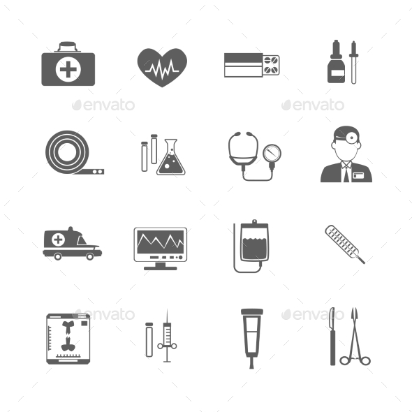 GraphicRiver Simple Medical Icon 10924863