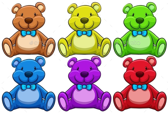 GraphicRiver Teddy Bears 10925155