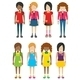 Faceless Girls Without Faces - GraphicRiver Item for Sale