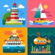 Sea Landscapes - GraphicRiver Item for Sale