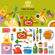 Kitchen Cooking - GraphicRiver Item for Sale