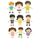 Kids Holding Hands - GraphicRiver Item for Sale