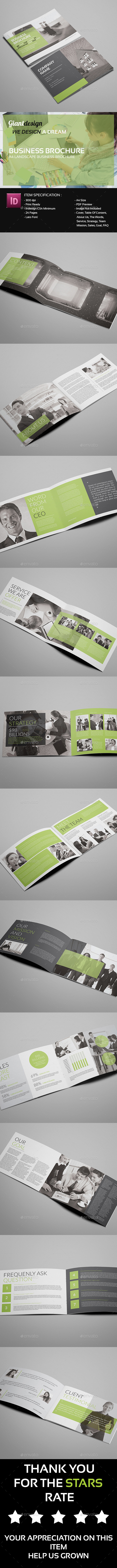 GraphicRiver Business Brochure 10925256