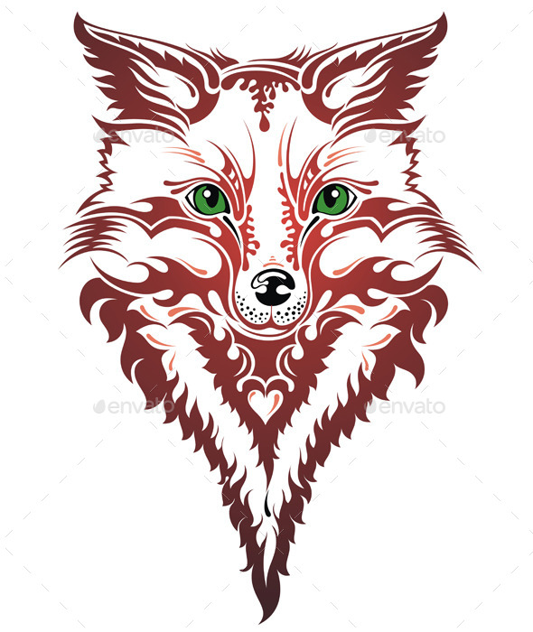 GraphicRiver Image of an Fox 10925325