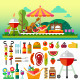 Summer Picnic - GraphicRiver Item for Sale