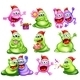 Monsters Celebrating Christmas - GraphicRiver Item for Sale