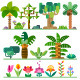 Tropical Plants Set - GraphicRiver Item for Sale