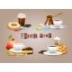 Coffee Decorative Icons Set - GraphicRiver Item for Sale