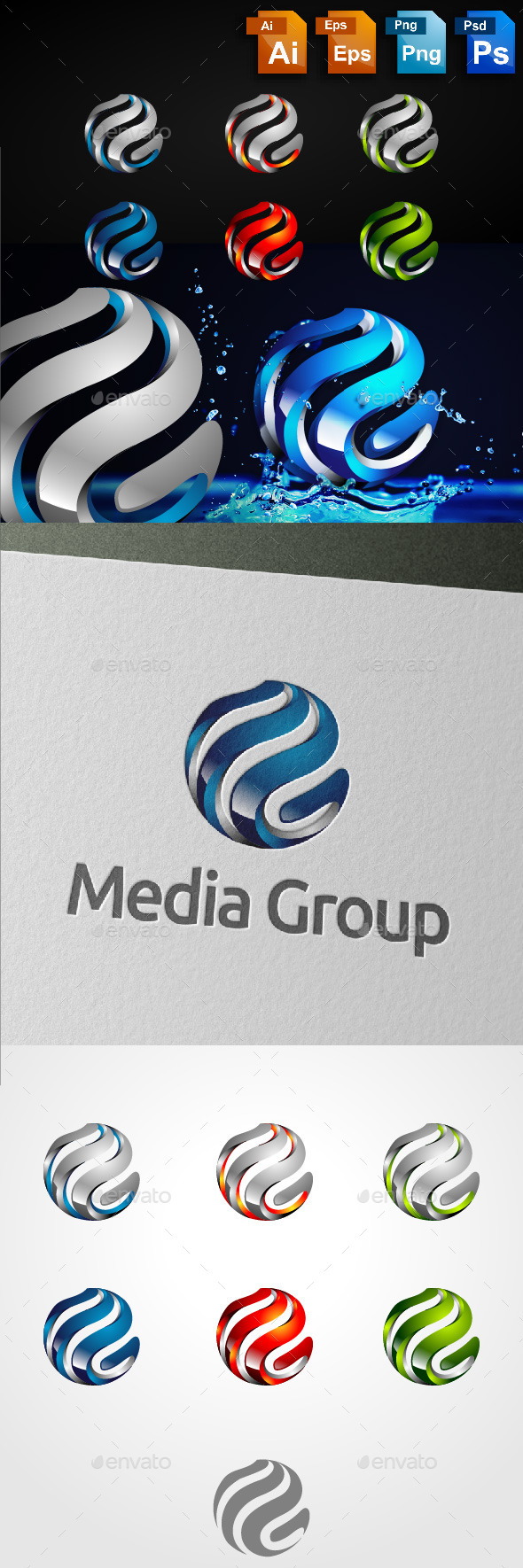 GraphicRiver Global Media Group 10925592