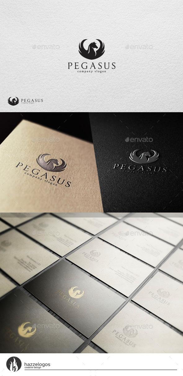 GraphicRiver Pegasus V2 Logo 10925612