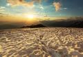 Sunset at Ushba - PhotoDune Item for Sale