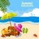 Summer Seaside  - GraphicRiver Item for Sale