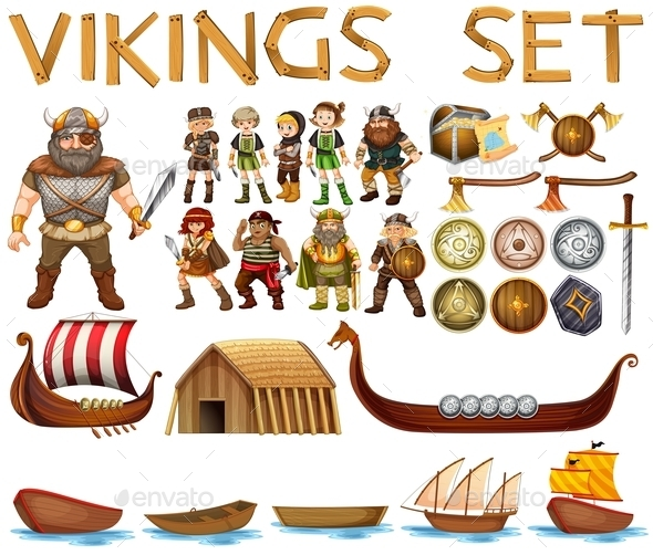 GraphicRiver Vikings 10925701