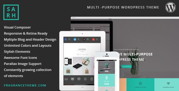 Sarah | Responsive Multi Purpose Theme