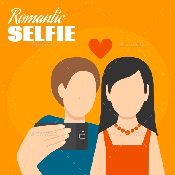 GraphicRiver Romantic Selfie Poster 10925781